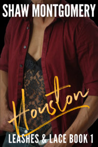Houston by Shaw Montgomery - Gay Romance Ebook Cover - Lace Kink