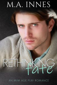 rethinking fate by ma innes - gay age play romance ebook cover