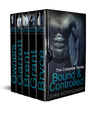 Bound & Controlled by Shaw Montgomery - Gay Romance EBook Box Set Cover