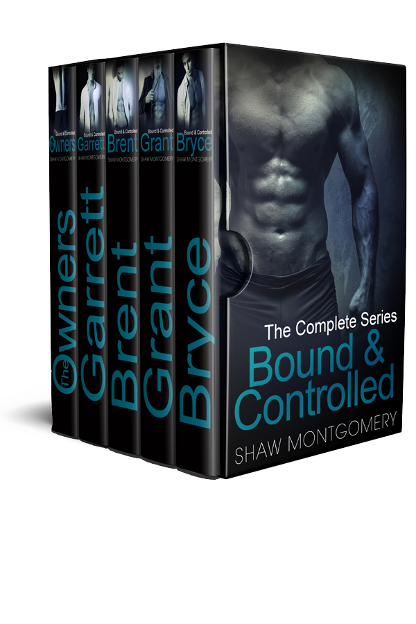 Bound and Controlled by Shaw Montgomery - Gay Romance Ebook Box Set Cover