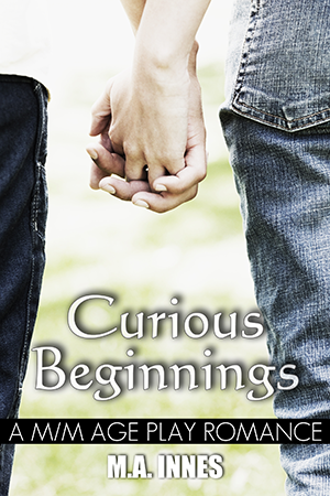 Curious Beginnings by MA Innes - Gay Romance EBook Cover