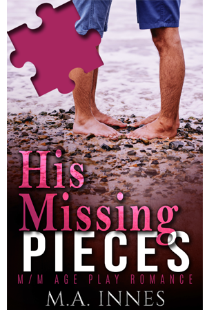 His Missing Pieces by MA Innes - Gay Romance Ebook Cover