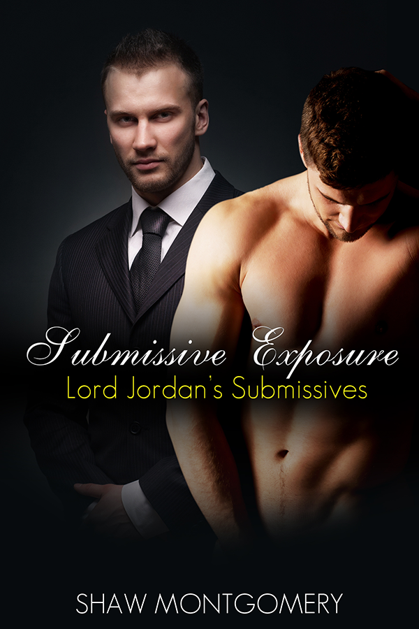 Submissive Exposure by Shaw Montgomery - Gay Romance Ebook Cover