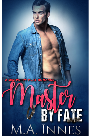 Master by Fate by MA Innes - Gay Romance Ebook Cover