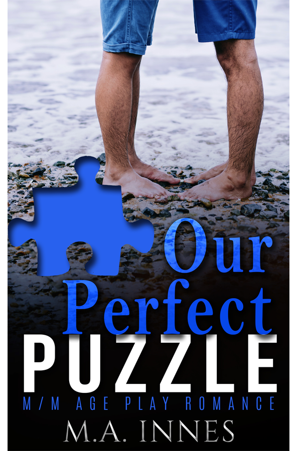 Our Perfect Puzzle by MA Innes - Gay Romance Ebook Cover