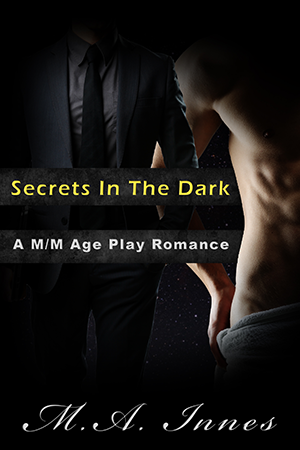 Secrets in the Dark by MA Innes - Gay Romance Ebook Cover