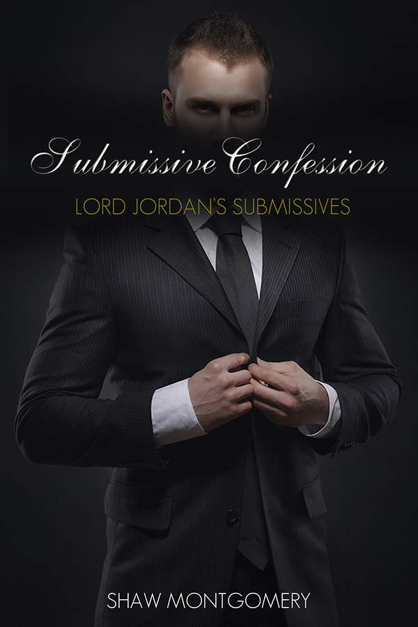 Submissive Confession by Shaw Montgomery - Gay Romance Ebook Cover