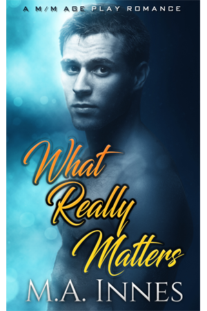 What Really Matters by MA Innes - Gay Romance Ebook Cover