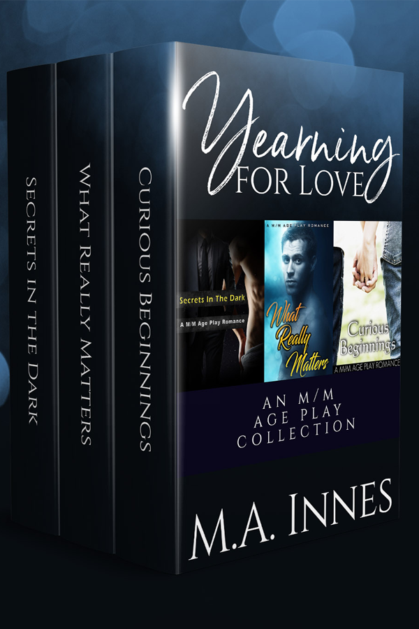 Yearning for Love by MA Innes - Age Play Stand Alone Box Set Ebook Cover