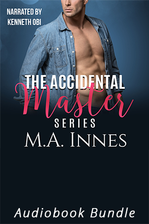 The Accidental Master Series Audiobook Bundle by MA Innes - Gay Romance Audio Book Cover