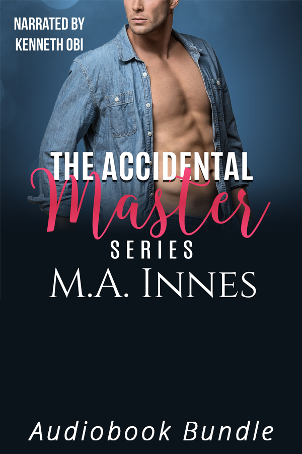 Accidental Master Series Audiobook Bundle by MA Innes - Gay Romance Audio Book Cover