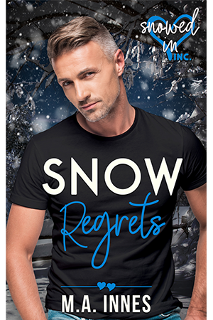 Snow Regrets by MA Innes - Gay Romance Ebook Cover