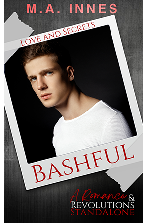 Bashful by MA Innes - Gay Romance Ebook Cover