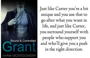 Bound and Controlled Quiz Results Carter in Grant by Shaw Montgomery